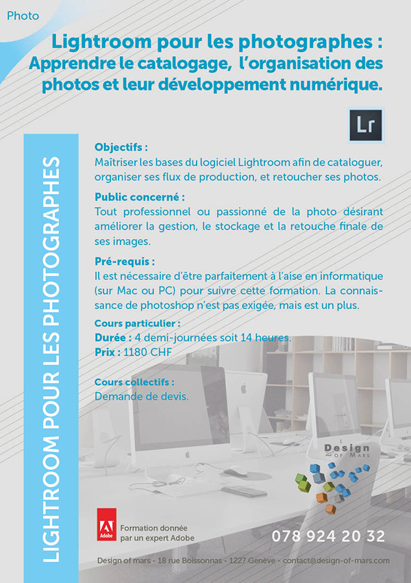 cours lightroom